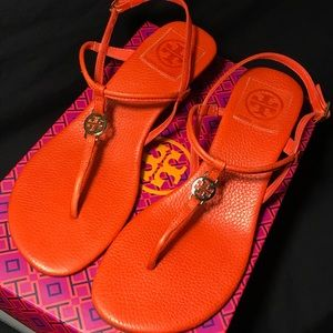 Tory Burch 3 Inch Heel Sandals